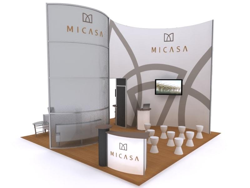 Exhibition Display Solutions : Exhibit solutions design pop up displays trade
