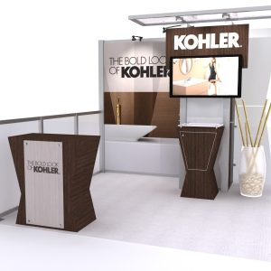 10 Foot Display Trade Show