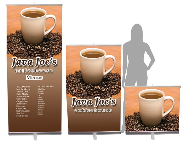 Trade Show Banner Stands - Pronto Retractable Banner Stand