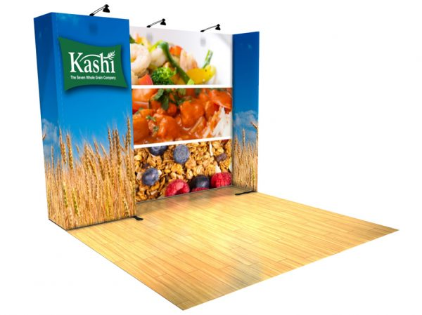 Panoramic 10x10 Display Trade Show A