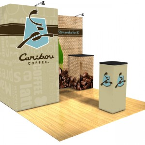 Panoramic 10x10 Display Trade Show E