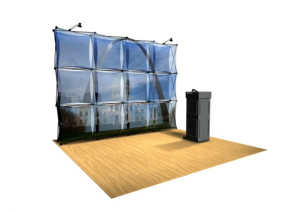 Xpressions SHEER Pop-Up Display 4x3 B