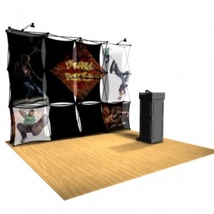 Xpressions SHEER Pop-Up Display 4x3 A