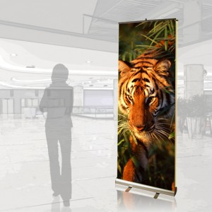 Pronto 2 Double-Sided Graphic Retractable Banner Stand