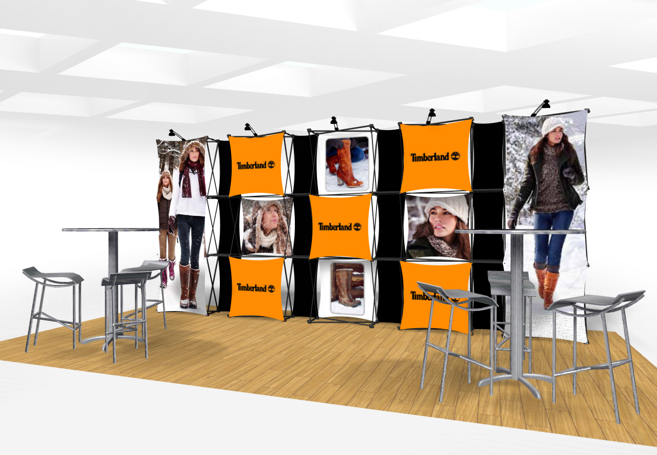 Exhibition Display Solutions : Xpressions connex ft trade show display kit a exhibit