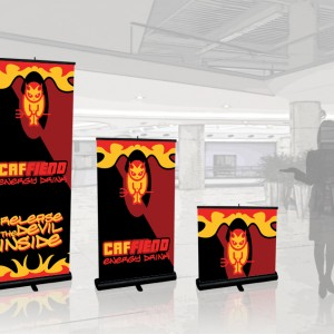 QuickScreen 1 Retractable Banner Stand