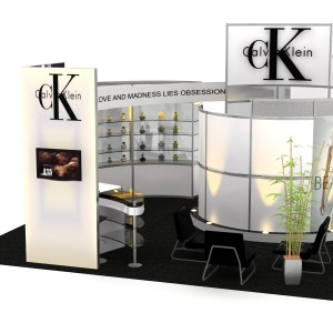 VK 5093 Euro LT Custom Modular Exhibit