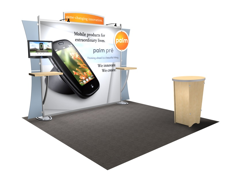 Portable Exhibition Solutions : Vk sacagawea portable hybrid display exhibit