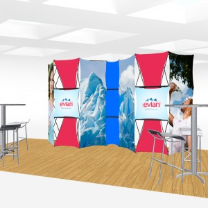 Xpressions CONNEX 20 Ft Trade Show Display Kit E