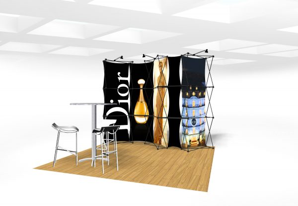 Xpressions CONNEX 10 Ft Trade Show Display Kit E