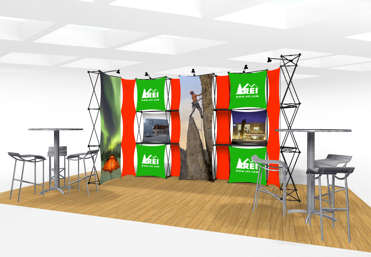 Xpressions CONNEX 20 Ft Trade Show Display Kit B