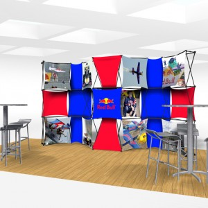 Xpressions CONNEX 20 Ft Trade Show Display Kit C