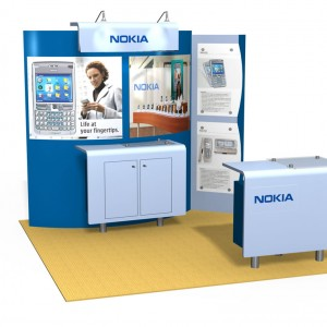 LTK 5012 Euro LT Custom Modular Exhibit