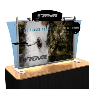 VK-1291 Sacagawea Tabletop Display