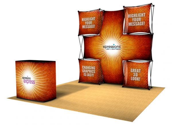 Xpressions EXPRESS Pop-Up Display Kit E
