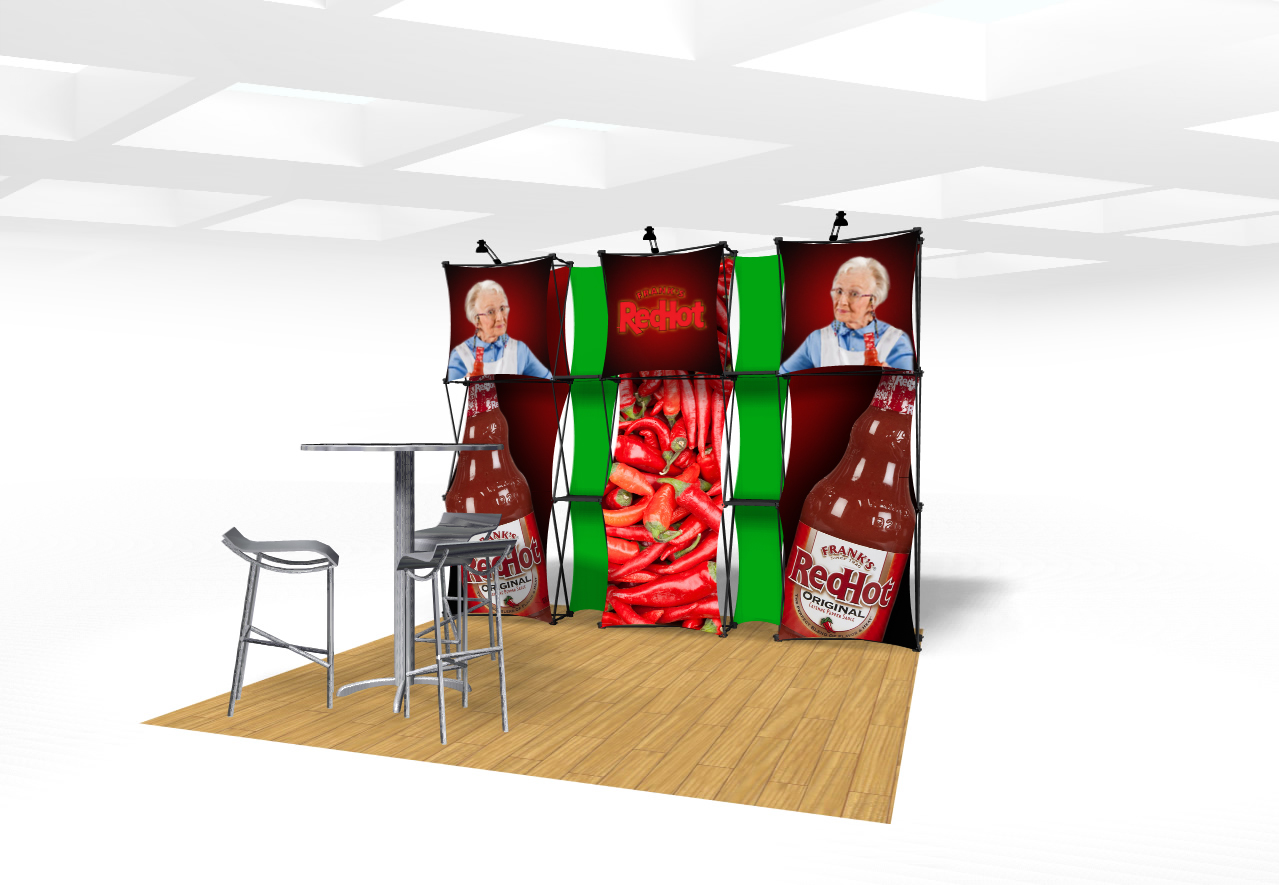 Xpressions CONNEX 10 Ft Trade Show Display Kit A