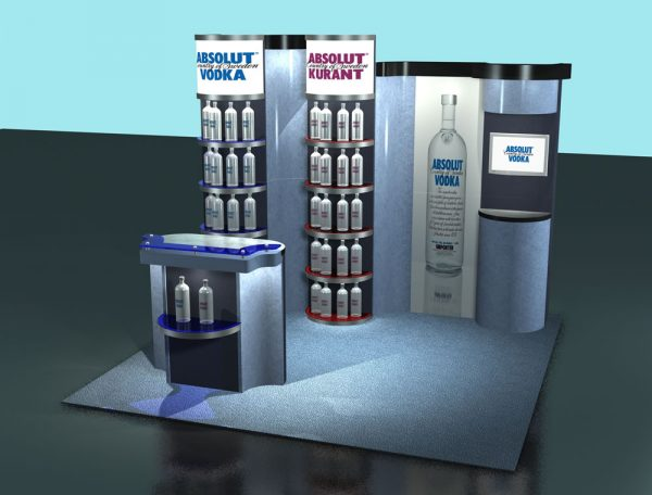 LTK-5002 Euro LT Custom Modular Exhibit