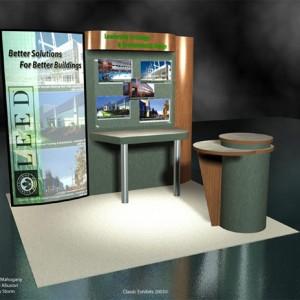 USGBC Euro LT Custom Modular Exhibit