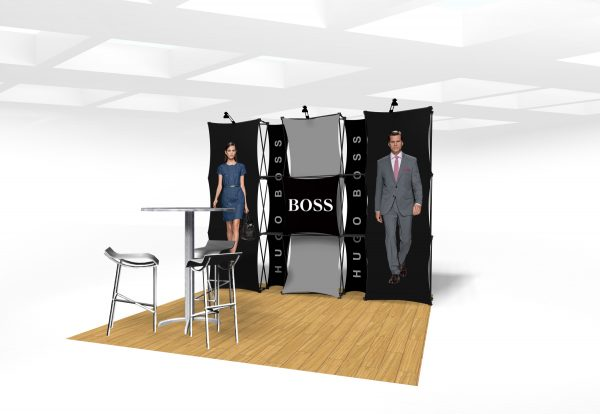 Xpressions CONNEX 10 Ft Trade Show Display Kit D
