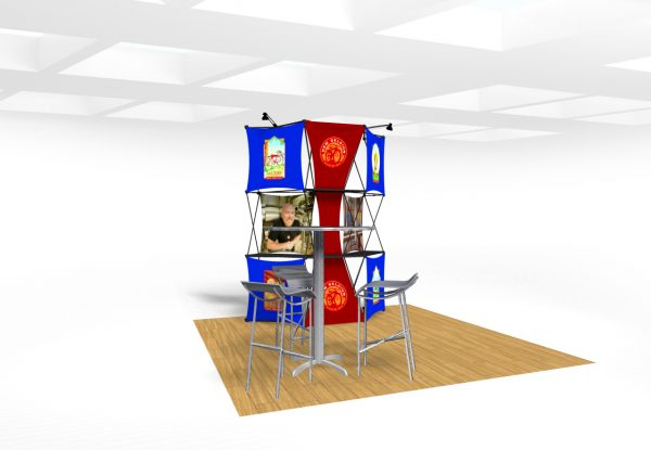 Xpressions CONNEX 10 Ft trade show display Kit B