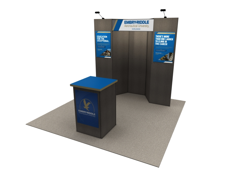 Portable Exhibition Display : Ff intro portable tradeshow display fabric flat panel