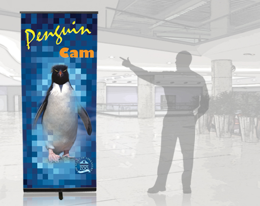 Pronto Retractable Banner Stand