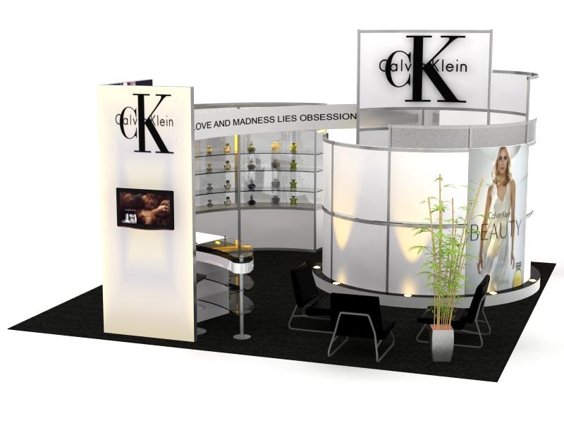 VK Visionary Designs Hybrid Exhibits X Verison Image - Conference table displays