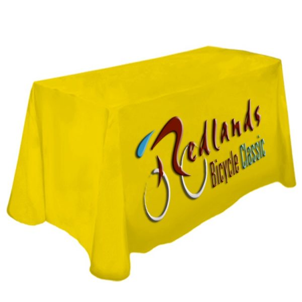 Table Cover Dye Sublimation Front Panel Printing 4 ft Table