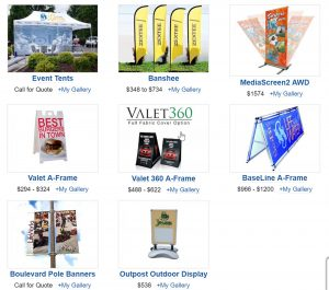 Trade Show Outdoor Event Displays