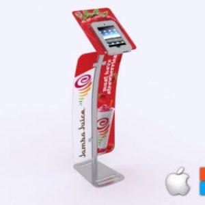 MOD-1333 Portable iPad Kiosk